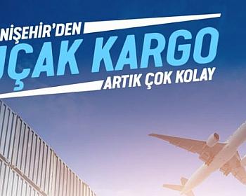 Yenişehir'den Uçak Kargo Artık Çok Kolay