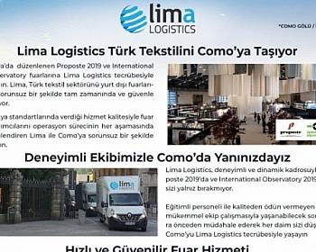 Lima Logistics Türk Tekstilini Como'ya Taşıyor